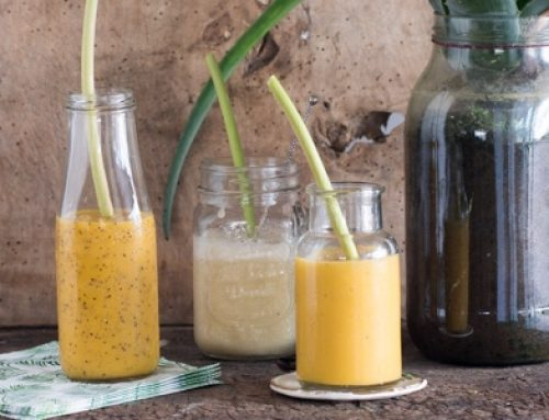 Recipe for Papaya, Mango & Parchita Smoothie