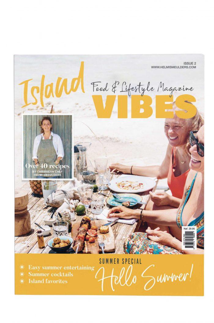 Island Vibes Caribbean food magazine